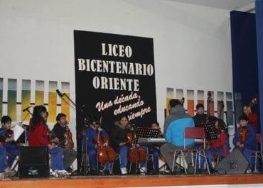 Décimo Aniversario Liceo Bicentenario