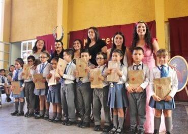 Mejores Lectores Escuela El Naranjal