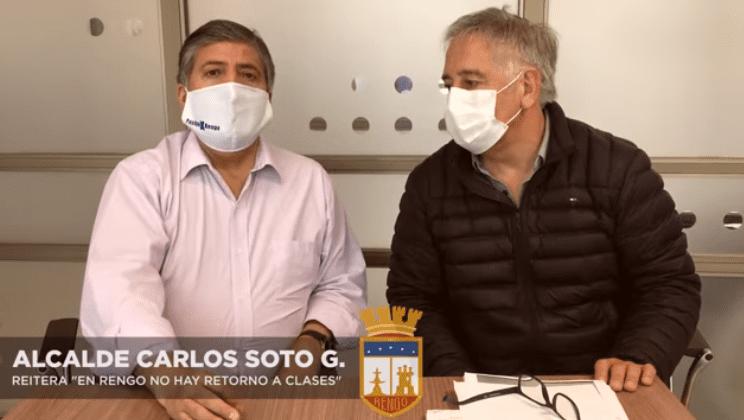 Continúa suspensión de clases en establecimientos educacionales municipales de Rengo