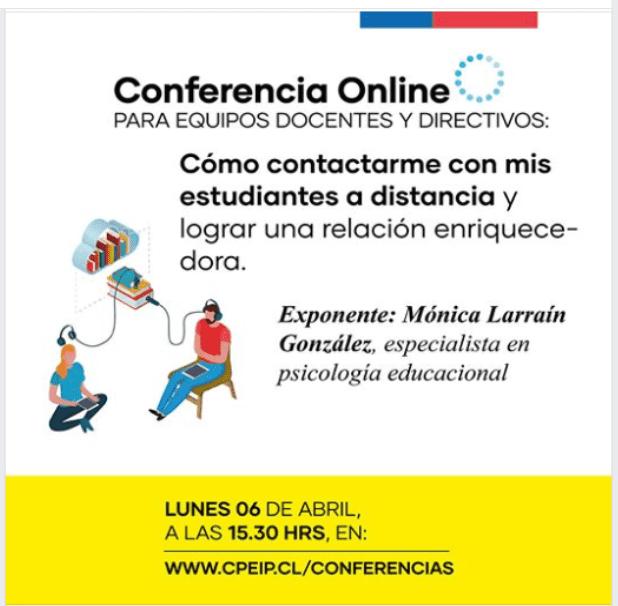 Conferencias para Equipos Directivos y Docentes